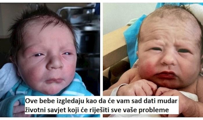 13 tek rođenih beba koje izgledaju kao da znaju svu mudrost svijeta; stare duše u tijelu mališana!