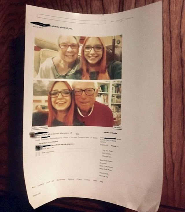 """""""Djed je lajkao jednu moju fotku na Faceu, ali mu se toliko svidjela da ju je dao isprintati"""""""