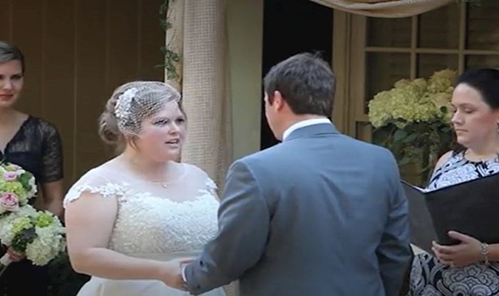 Mladenka je izgovarala zavjete, a onda je matičarka napravila nešto neočekivano i uništila vjenčanje