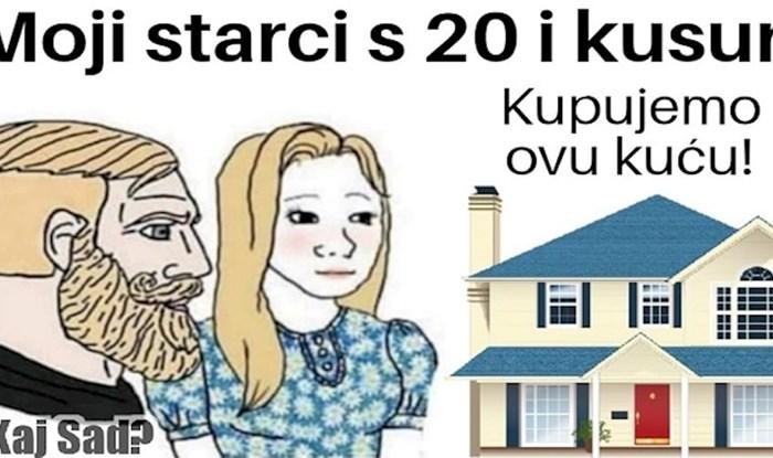 Netko je urnebesnim memeom opisao razliku između odraslih nekad i sad; ovoga ima samo na Balkanu