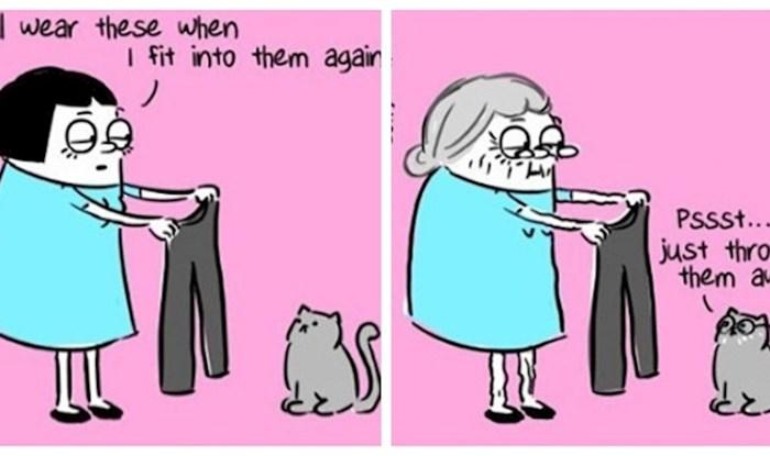 """Umjetnica komičnim ilustracijama prikazuje život iz ženske perspektive; svaka je pogodak """"u sridu"""""""