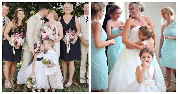 19 puta kada je netko upao u kadar, ukrao pozornost i učinio vjenčane slike urnebesnima