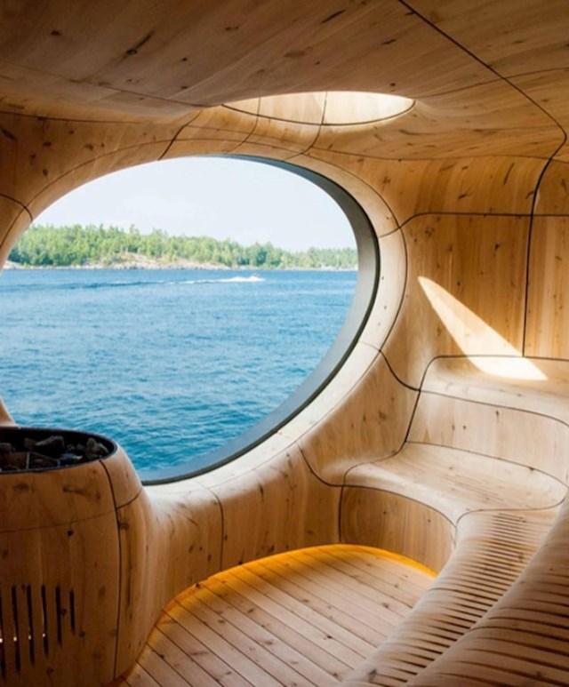 Sauna s pogledom