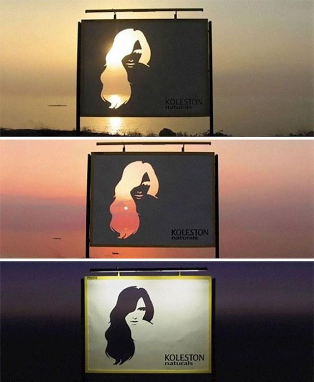 13. Reklama za boje za kosu