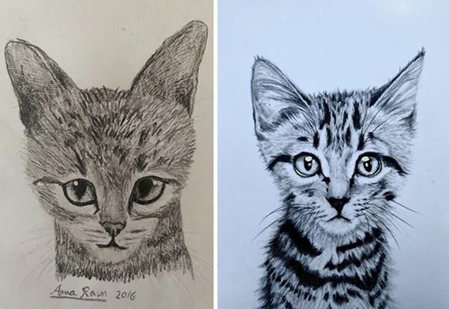 Četiri godine svakodnevnog poboljšavanja slikarskih vještina