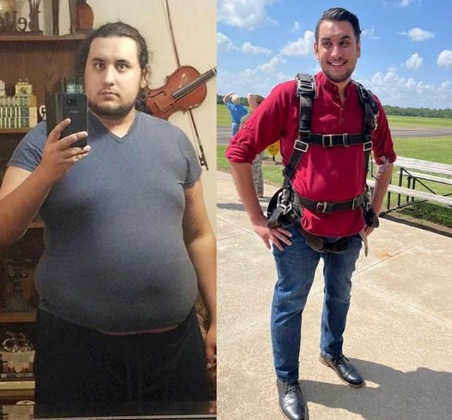 """""""Toliko promjena se dogodilo tokom procesa mršavljenja, da uopće ne poznajem osobu s prve slike!"""""""