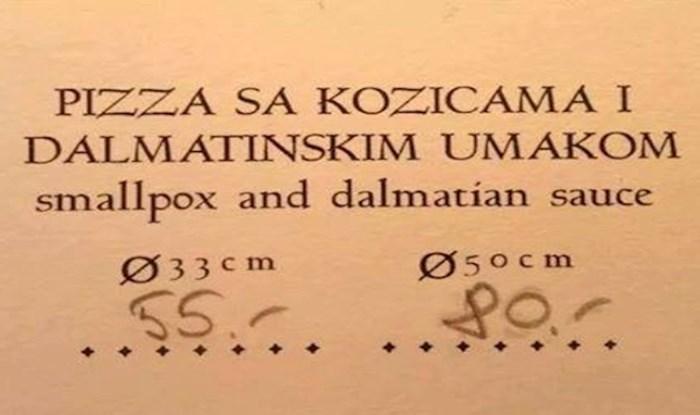 Najsmješniji prijevodi koje su ljudi našli u cjenicima restorana i općenito u turizmu