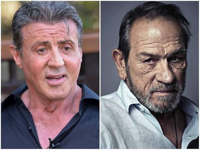 Sylvester Stallone i Tommy Lee Jones — 75 godina