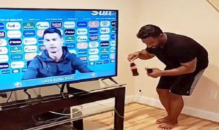 """Sjećate se tipa kojem je Ronaldo """"dodao"""" Coca-Cole? Sad se uhvatio Messija i mnogih drugih i hit je!"""