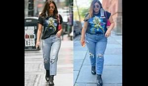 Modna stručnjakinja kopira outfite zvijezda: želi dokazati da mršavost nije uvjet za dobar izgled
