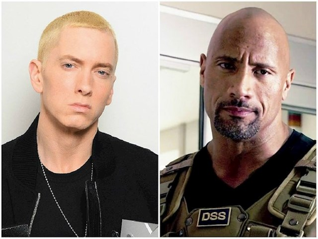 Eminem i Dwayne Johnson — 49 godina
