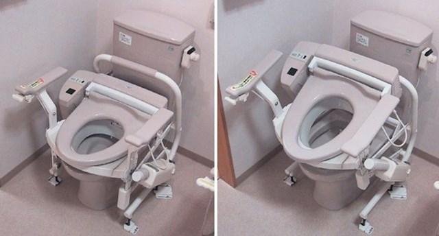 WC školjka za starije koja se sama podiže