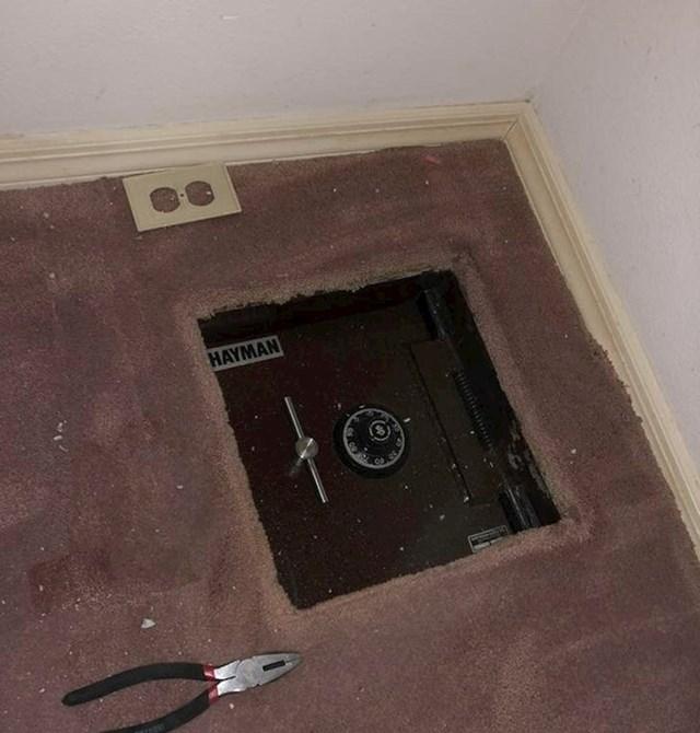 """""""U novoj kući sam našao ovo kad sam mijenjao tapete!"""""""