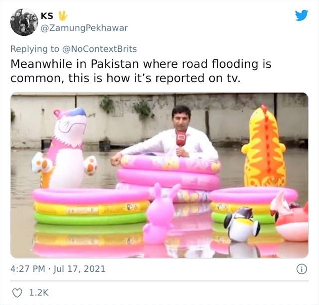 14. TV reportaža s jedne pakistanske prometnice