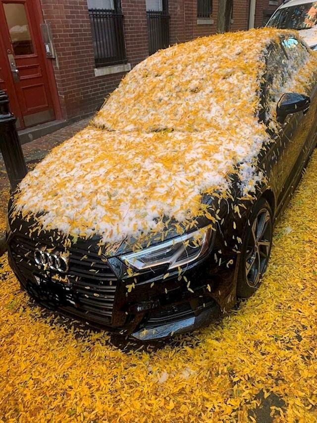 20. Kada prvo padne snijeg, a onda počne jesen