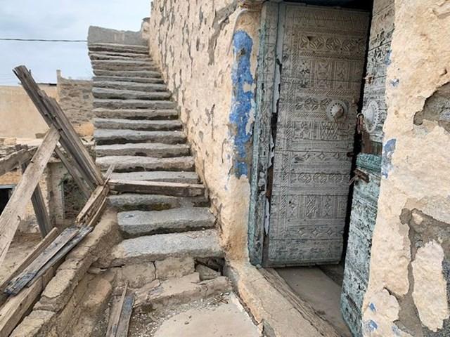 2. Tip je slikao kuću svog djetinjstva, koja je pripadala njegovom djedu. Nalazi se u Saudijskoj Arabiji