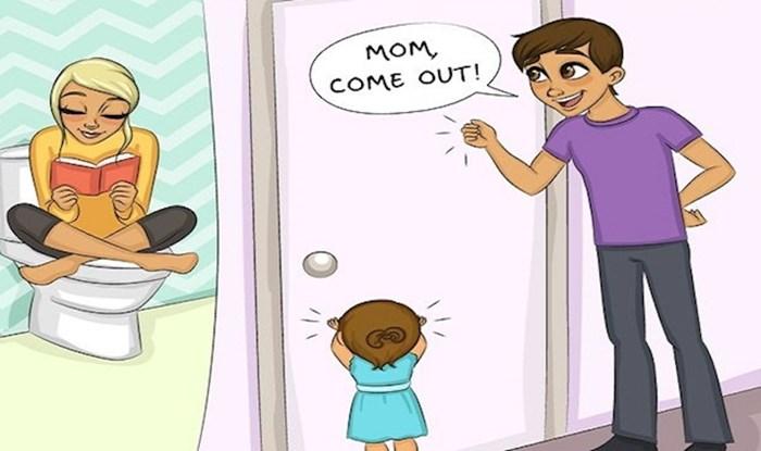 Očekivanje vs. realnost: 9 fora ilustracija u kojima će se prepoznati svi novopečeni roditelji