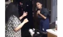 VIDEO Pogledajte kako ovaj pas ne podnosi svađe u kući i što sve čini da ih spriječi; preslatko!
