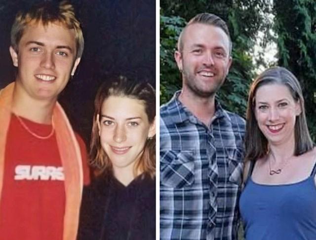 Fotka dana kada su se upoznali u vodenom parku prije 20 godina i danas