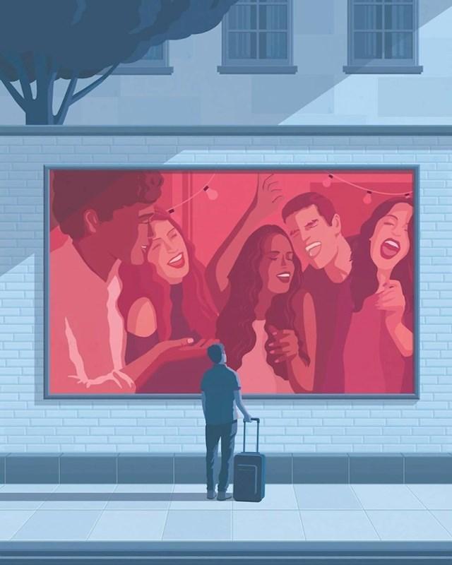 Samoća i društvene mreže