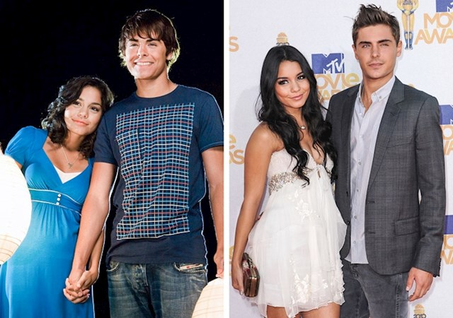 Zack Efron i Vanessa Hudgens (High School Musical)