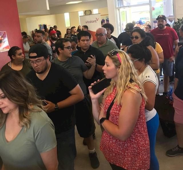 Ovako je izgledao centar za darivanje krvi u El Pasu kada je objavljeno da vlada nestašica krvi.