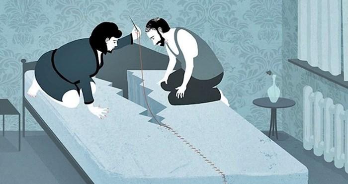 Iskrene ilustracije koje će vas potaknuti na razmišljanje o najvećim problemima današnjice