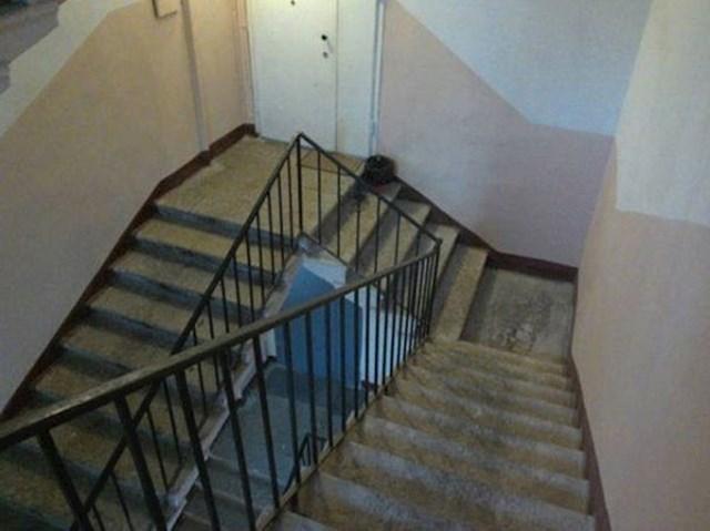 Tko je smislio ove bizarne stepenice i što je točno htio postići?