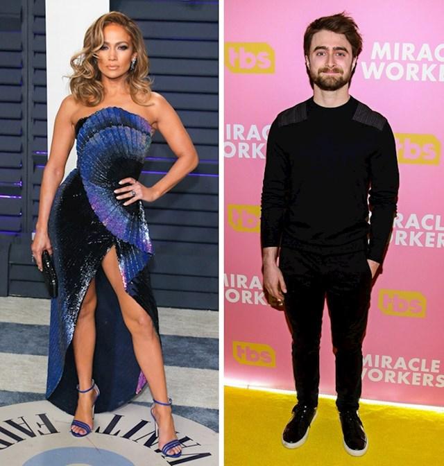 Jennifer Lopez i Daniel Radcliffe: 165 cm