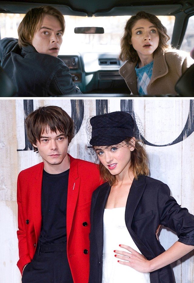 Natalia Dyer i Charlie Heaton (Stranger Things)
