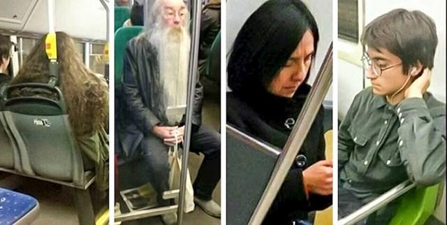 """""""Harry Potter i misterij u podzemnoj željeznici"""""""
