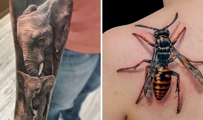 21 primjer nevjerojatnih tetovaža koje izgledaju kao pravo umjetničko djelo