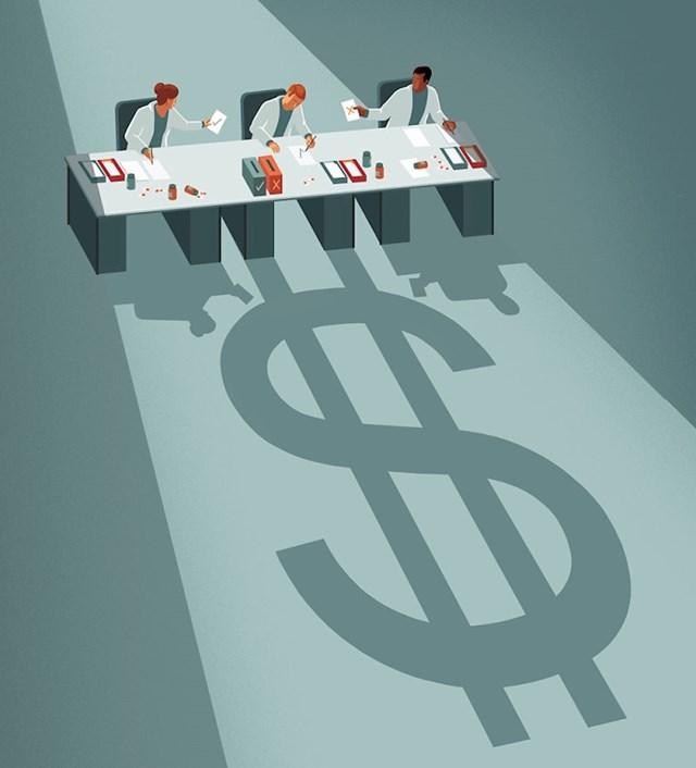 Farmaceutska industrija i novac