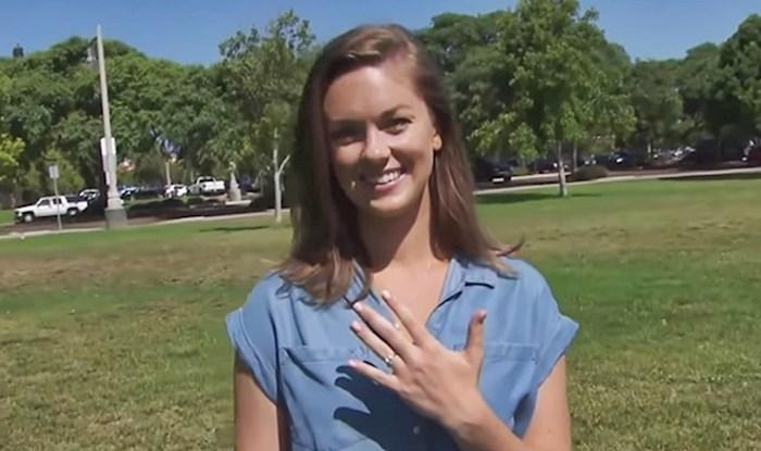 Ova žena je izgubila svoj zaručnički prsten. Kad se probudila, odmah je znala gdje se nalazi