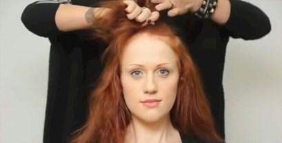 Došla je u salon na makeover, a oni su joj obrijali glavu. Što kažete na njen novi izgled?