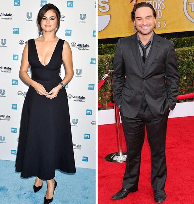 Selena Gomez i Johnny Galecki: 165 cm