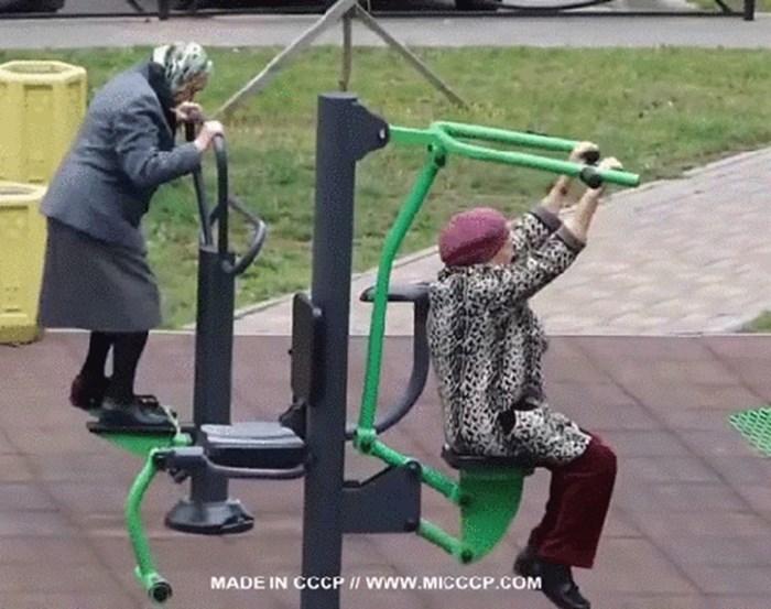 U parku su postavili vanjske sprave za vježbanje, već sljedećeg dana su ugledali neobičan prizor