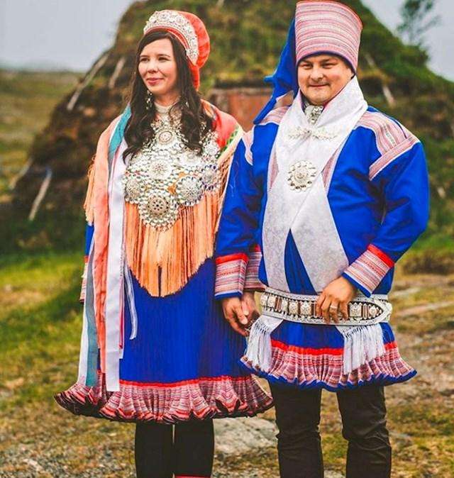 """Tradicionalna norveška vjenčanica se zove """"bunad"""" i treba otjerati zle duhove."""