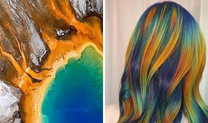Ovaj stilistica pretvara očaravajuće slike iz prirode u nesvakidašnju boju za kosu