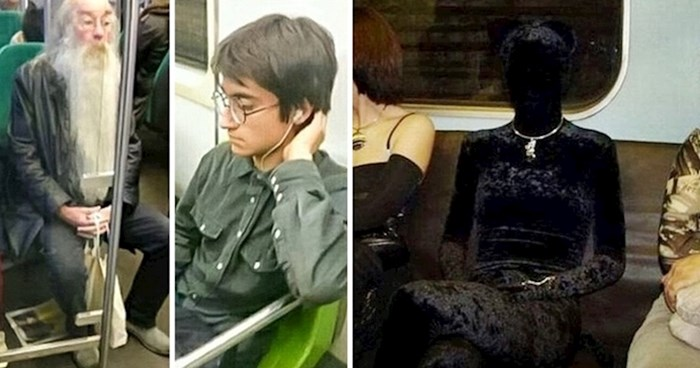 20 čudnih slika ljudi iz podzemnih željeznica koji su svima dan učinili zanimljivijim