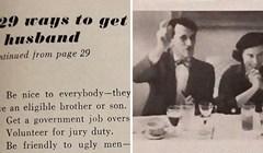 """""""129 načina kako naći muža"""" Ovaj članak iz 1958. pokazuje koliko se svijet zapravo promijenio"""