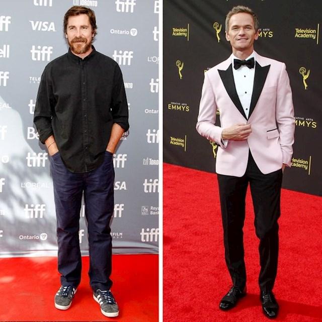 Christian Bale i Neil Patrick Harris - 183 cm