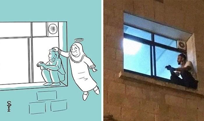 Muškarac se penjao na prozor bolnice i nadgledao majku sve dok nije umrla od korone