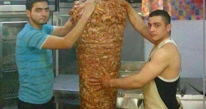 Fotka koja je uznemirila ljubitelje: Dobro ćete razmisliti prije nego što ponovno naručite kebab