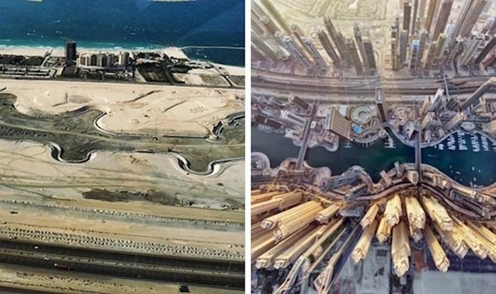 Nevjerojatno je vidjeti koliko su se neki gradovi promijenili u relativno kratkom vremenu