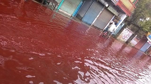 Crvena kiša u Indiji