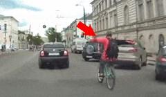Ova snimka će vam pokazati zbog čega nije dobro glupirati se na biciklu
