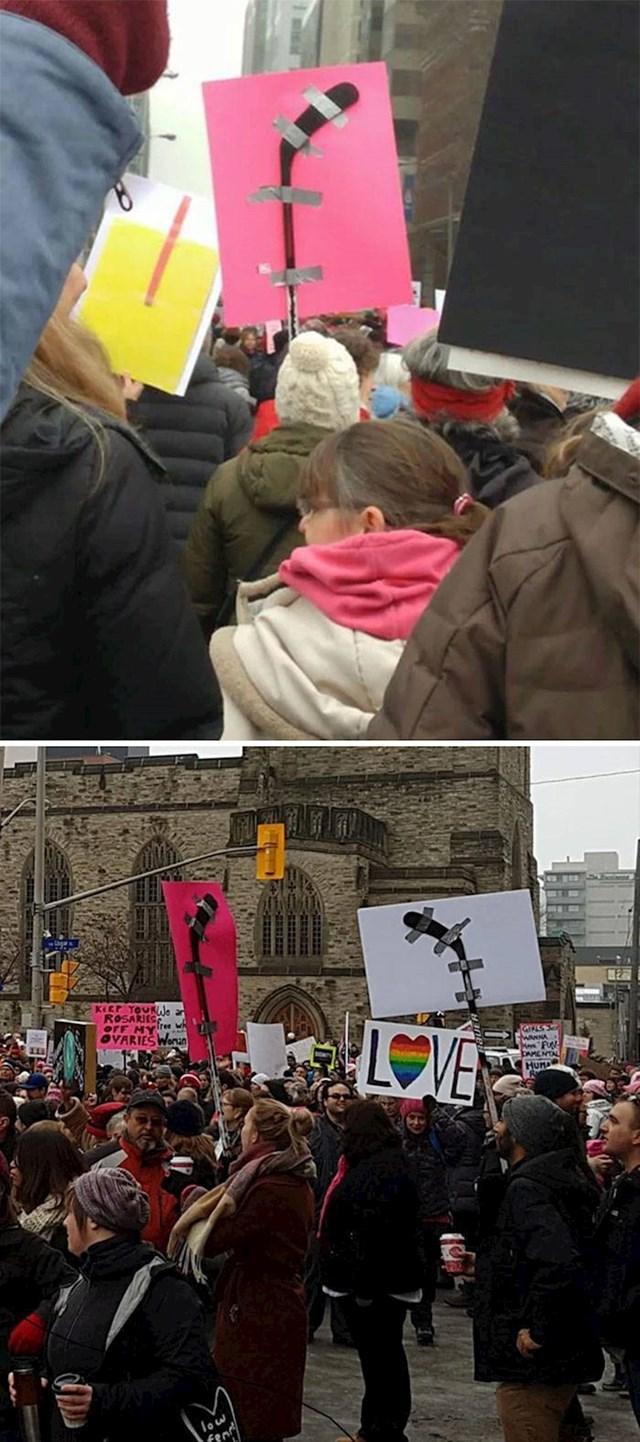 Kako Kanađani prosvjeduju...