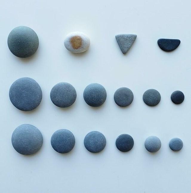 Ova osoba skuplja savršeno okrugle kamenčiće...