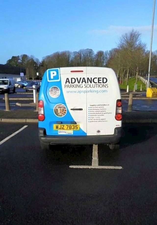 Ono kada stručnjak za parkiranje ne zna parkirati...
